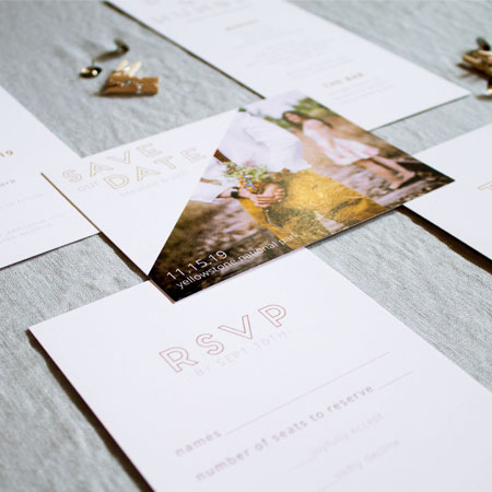 Semi-Custom Stationery